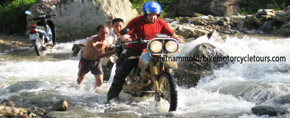 Motorbike tours through Vietnam